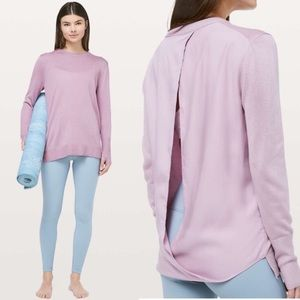 NEW Lululemon Still At Ease Pullover Sweater Top 4